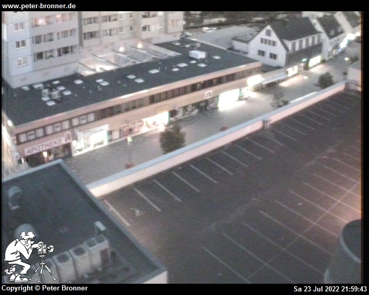 Peters Webcam in Wesseling mit Blick auf die Fu�g�ngerzone (Flach-Fengler-Str.). Webcam 4